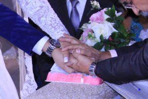 Bençãos dos noivos